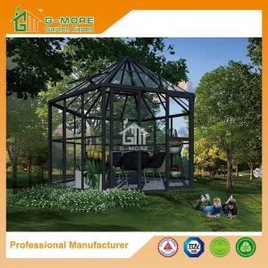 China Newest Aluminium Profile + Tempered Glass Luxury Hexagon Shape Sun Room - 390 X 343 X 290CM (L X W X H) on sale