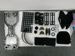 China Пластиковая раковина для вакуума самоката 2 колес электрического металлизируя части on sale