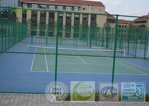 China Outdoor Artificial Tennis Playing Surfaces Anti Abrasion Easy To Install on sale
