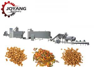 China Double Screw Pet Food Processing Line Animal Food Making Machine Long Life on sale