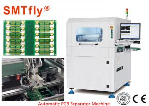 China 350*350mm PCB Depaneling Router Machine / LED Trip Separator SMTfly-F03 on sale
