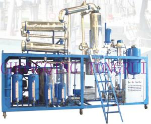 China DIR Series Vacuum Distillation Used Oil re-refining Equipment on sale