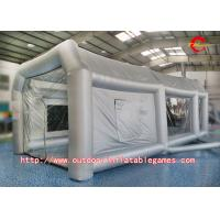 Durable Inflatable Tent Spray Paint Booth Tent For Car Garage With Air Blowe