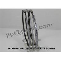 China Ductile Material Engine Piston Rings 4D130 For Excavator Truck 6114-30-2403 on sale