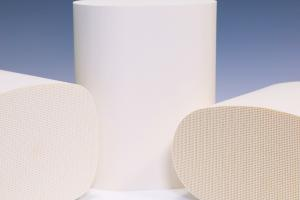 Quality Honeycomb Ceramic Substrates Custom For Exhaust Purification for sale