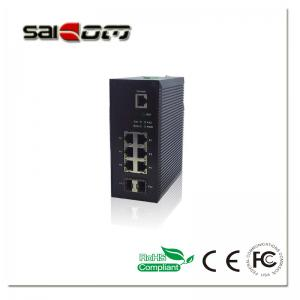China 100M Smart Enhanced/Wide Temperature 2FX +6FE Industrial Fiber Network Switch on sale