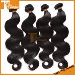 Califique el pelo indio de Remy del indio de la Virgen del pelo de la Virgen sin procesar cruda 7A para barato
