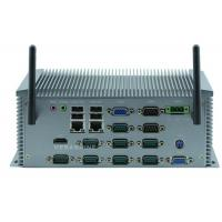 10 COM , 2 gigabit LAN Industrial Grade Embedded Computer Server Supports Wake-on-LAN