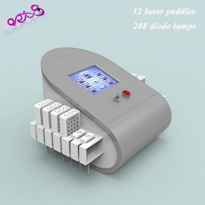 China Smart 200mw Dual Wave Length Laser Liposuction Machines, 208 Diodes Lipo laser on sale