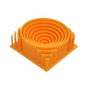 China Fluorescent Orange RepRap / Makerbot ABS Filament 1.75 Mm 3D Printer Filament on sale