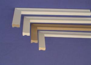 China Vinyl Foam Decorative Moldings , Brick Mold For Windows and Doors on sale