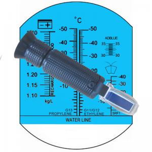 China Handheld Refractometer, Antifreeze / Battery Fluids/ Cleaning Fluids Refractometer with Adblue on sale