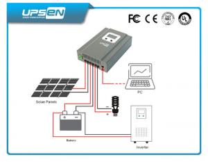 China 20amp-40amp LCD Display MPPT  Solar Charge Controller 12V / 24/48vdc on sale