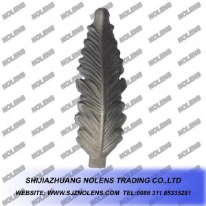 China Casting Steel Gate's Ornamental Leaves,Cast Steel Components for Gate and Fence's ornaments on sale