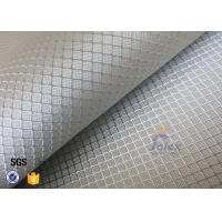 220g Silver Plated Aluminized Fiberglass Cloth Fabric For Surface Decoration