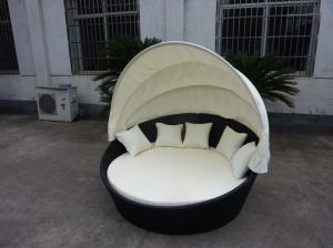 China outdoor rattan canopy daybed wholesale