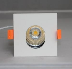 China Commercial Hotel Square LED Ceiling Downlights , Recessed Led Spotlights 120lm/W on sale