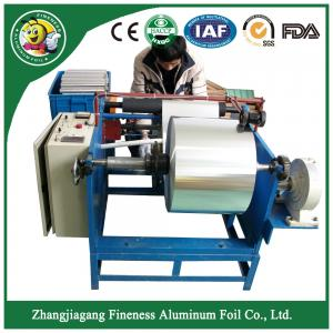 China Special top sell aluminum foil roll rewinder and slitter machine on sale