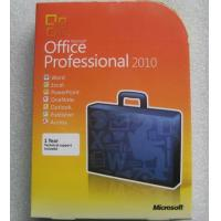 Microsoft Office 2010 professional retail box