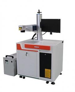 China 0 - 7000mm/S Marking Speed UV Laser Marking Machine For Metal Plastic Printing on sale