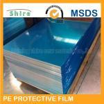 El PE se aferra cinta baja de la protección de la tachuela de la película para la superficie inoxidable de la hoja de acero del espejo