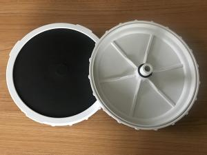 China 8 Inch Membrane Disc Fine Air Bubble Diffuser For Aeration Of Fish Shrimp Ponds on sale