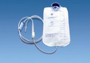China Disposable double tube 150ml / 250ml PVC infusion bag of medical solution on sale