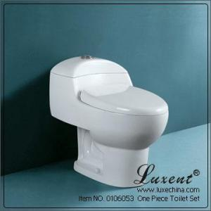China Siphonic One Piece Toilet on sale