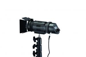 China 50W Dimmable LED Video Lights Focusable Portable Spot Light 5600K Daylight on sale