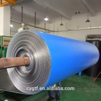 China Industrial Construction Heat Insulation Foam Thermal Pool Blanket Material Blue Xpe on sale