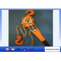 China 3 Ton Lever Chain Hoist 1.5M Lift , Construction Tightening Lever Chain Block on sale