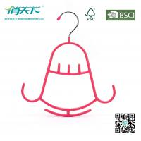 Betterall Multifunctional Bell-shaped PVC Metal Hanger for scarves