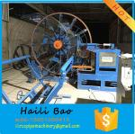 Wire cage welding machine for concrete pipe