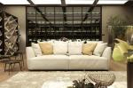 European Modern Simple Style Home Furniture Genuine Leather Sofa Sets Design ZZ-T-030