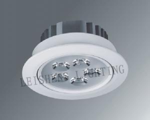 China Pure White 5000k, 6000k, 6500k Aluminum AC85 - 265V 5W Recessed Led Ceiling Lights on sale