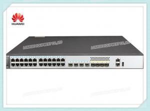 China Huawei Network Switch S5720-28X-PWR-SI-AC 24 Ethernet 10/100/1,000 PoE+ Ports 4 x 10 Gig SFP+ on sale