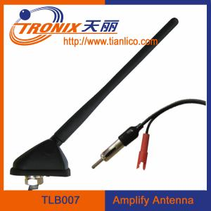 China amplifier car antenna/ car am fm antenna/ active car antenna TLB007 on sale