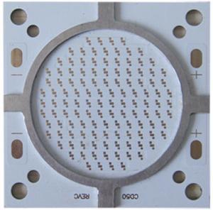 China High Power Street Light Single Sided PCB Board Aluminum Base 2 Oz  1 W 2 W 3 W 5 W LEDs on sale