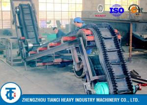 China Heavy Duty Industrial Large Angle Sidewall Conveyor Belt Rubber Corrugated Type on sale