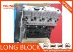Long Engine Cylinder Block For Hyundai H1 D4BB D4BH / Mitsubishi 4D56T D4BH