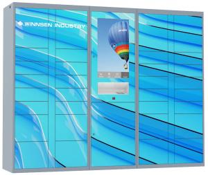 China Electronic Laundry Locker with multi languages and safe scured electronic locks on sale