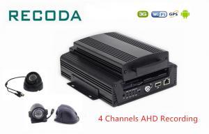 China 3G 4G WIFI GPS 4ch Hard Disk Car Dvr Analog HD 720P Car Black Box Mobile DVR on sale
