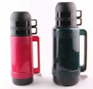 China Flacon de vide occasionnel de thermos de voyage de mini du thermos 1.0L de revêtement pot en verre d'isolation on sale