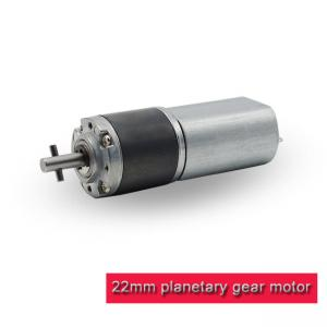 China Powder Metallurgy DC Planetary Gear Motor 22mm 12 Volt For Home Appliance on sale