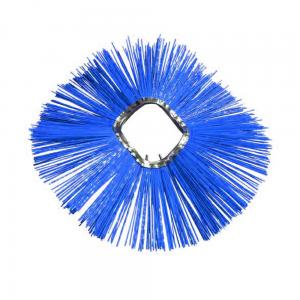 China Custom Poly Bristle Wafer Ring Sweeper Broom Brushes on sale