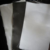 Dust / Air / Powder Filtration Filter Press Cloth 360gsm E Glass Non Alkali Graphite Fiberglass Cloth