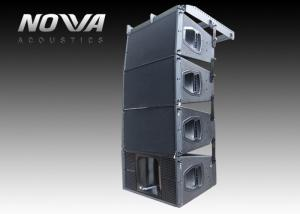 China Dual 10 Inch Line Array Speakers , Professional Audio Loudspeaker For DJ Club on sale