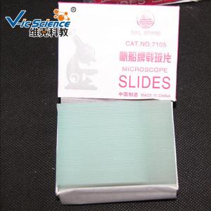 China Medical School Lab Consumables Laboratory Apparatus Frosted Microscope Slides 7105 on sale