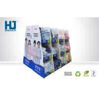 Strong Bearing Capacity Cardboard Display Stands For T - Shirt / Children Clothes