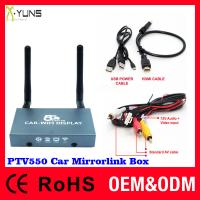 2.4G & 5G Car mirror link black box for CVBS(AV in) RCA/RGB/YPbPr Huawei OPPO ZTE project